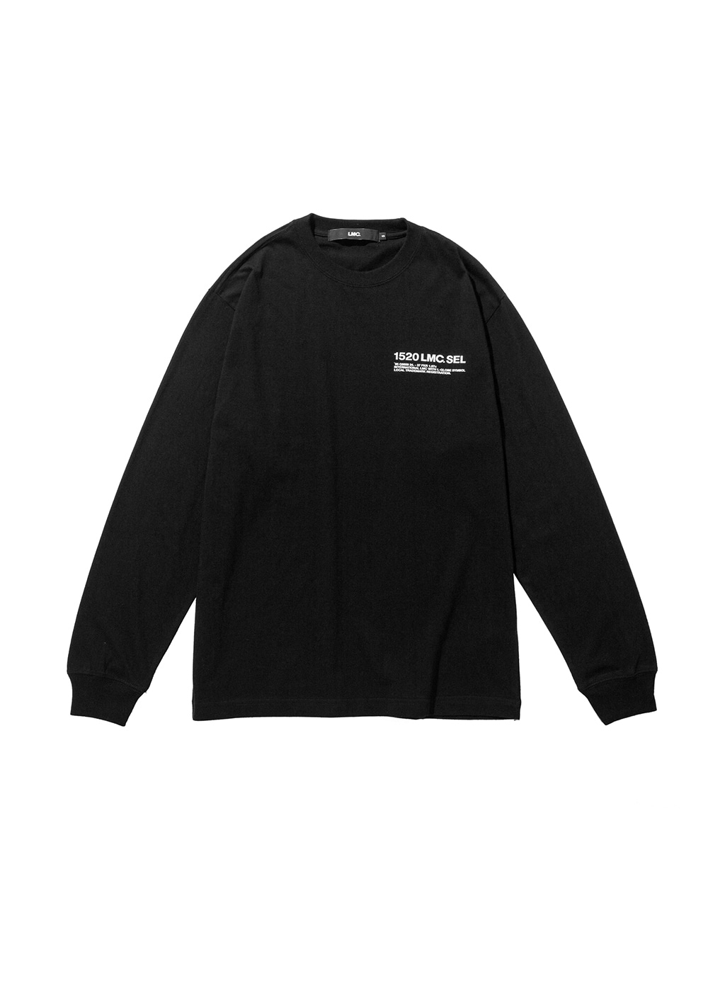 LMC SEL LONG SLV TEE black
