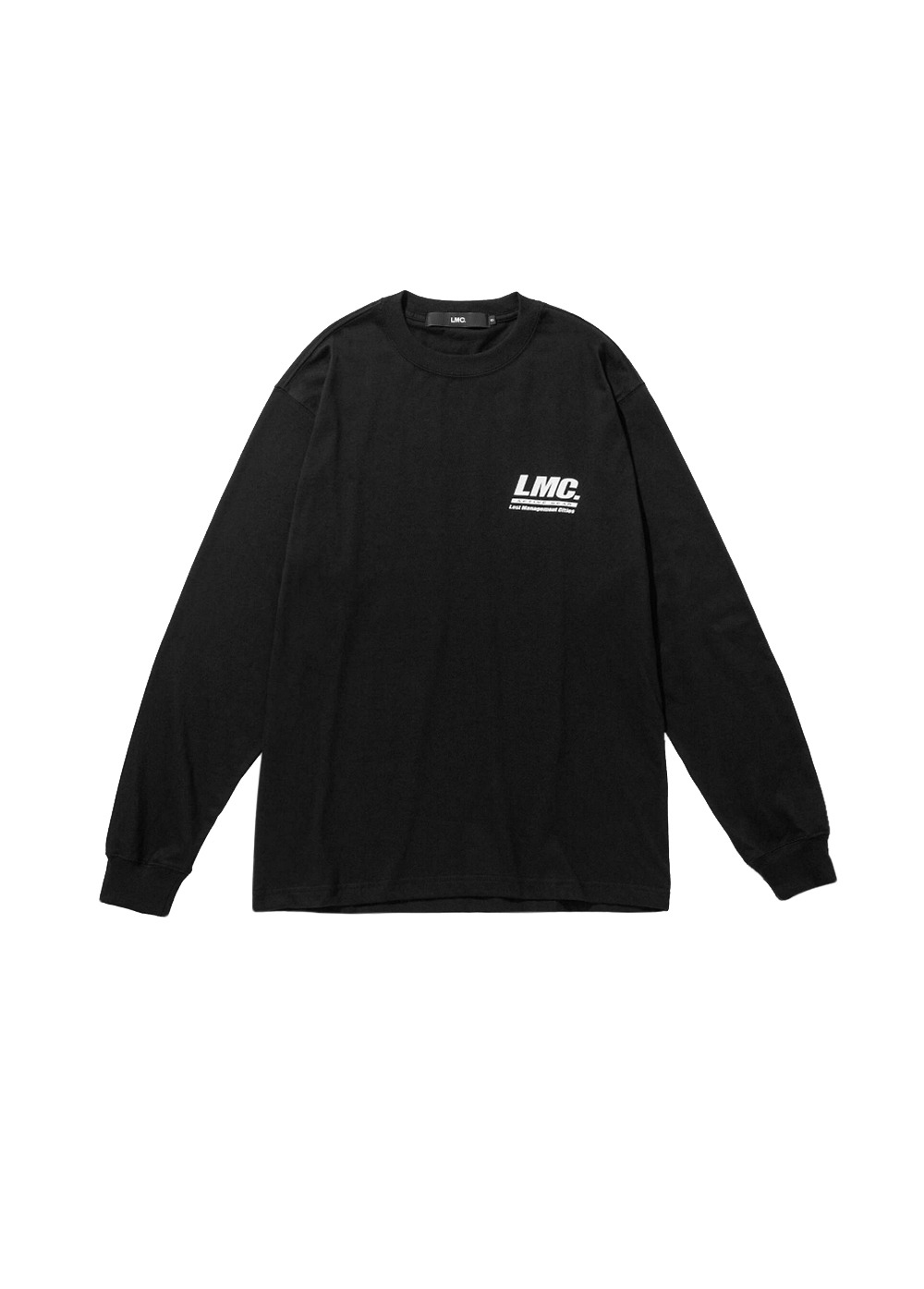 LMC ACTIVE GEAR LONG SLV TEE black