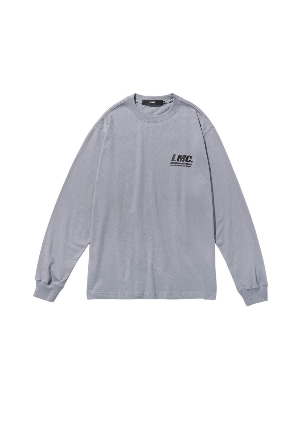 LMC ACTIVE GEAR LONG SLV TEE gray