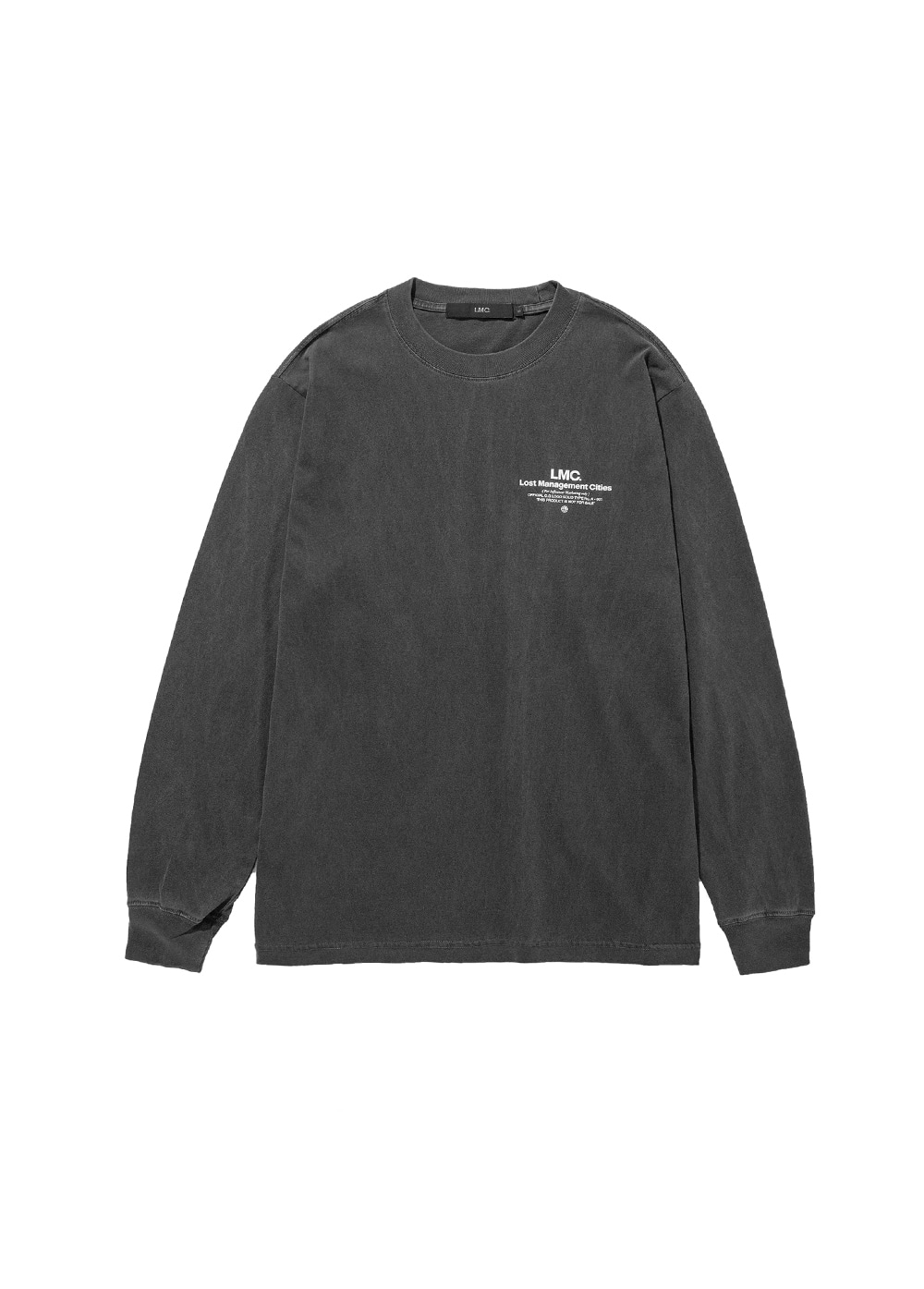 LMC INFLUENCER LONG SLV TEE dark gray