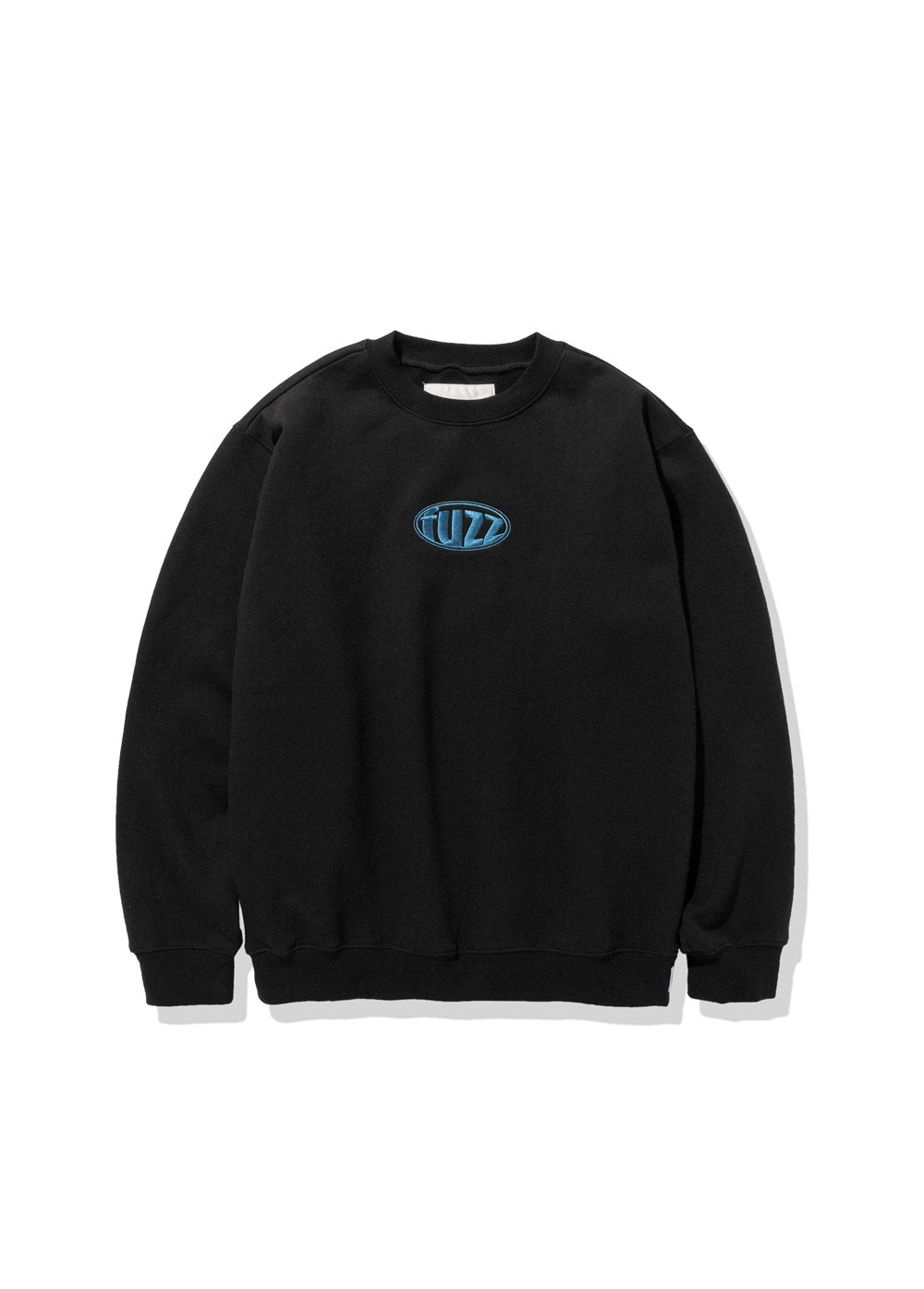 FUZZ CIRCLE LOGO SWEATSHIRT black