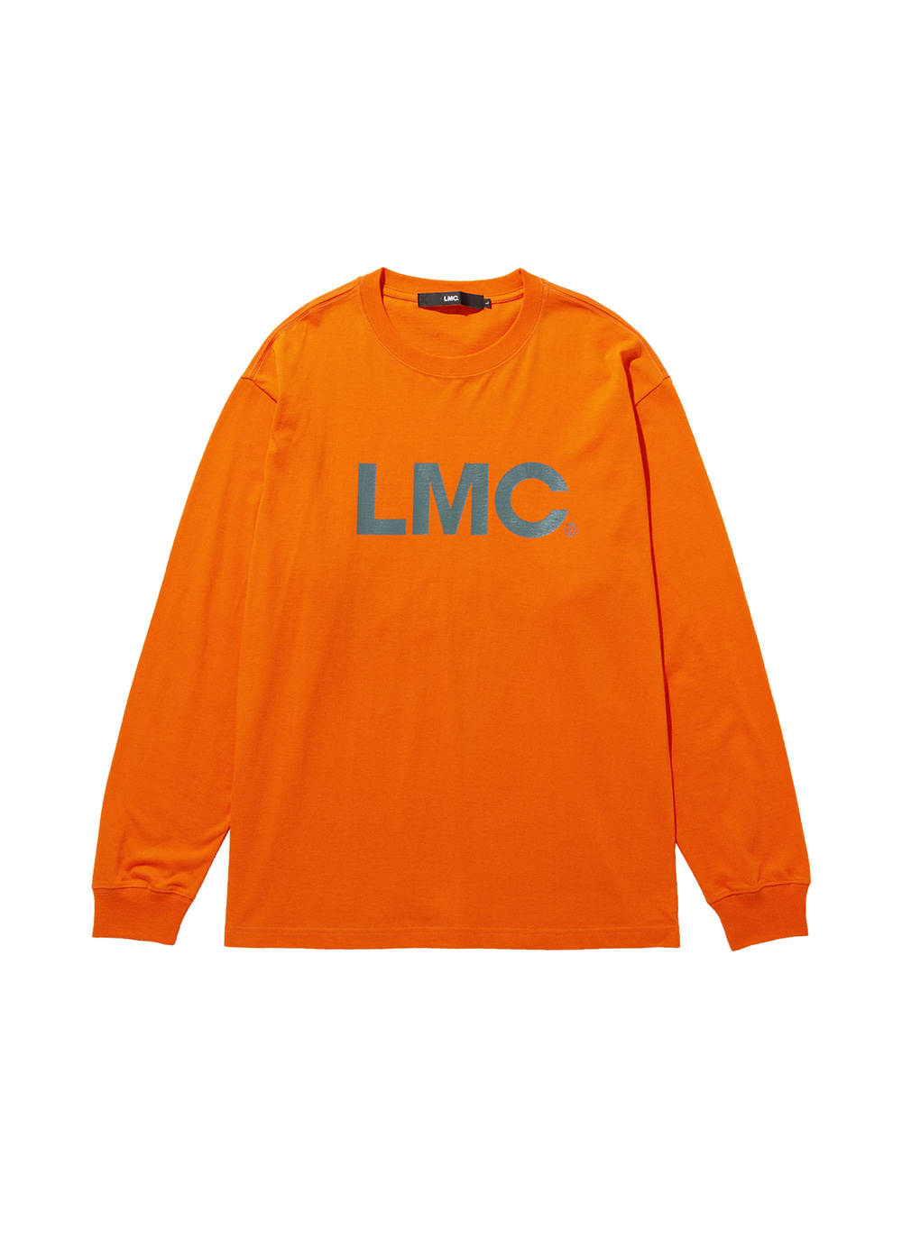 LMC OG LONG SLV TEE orange