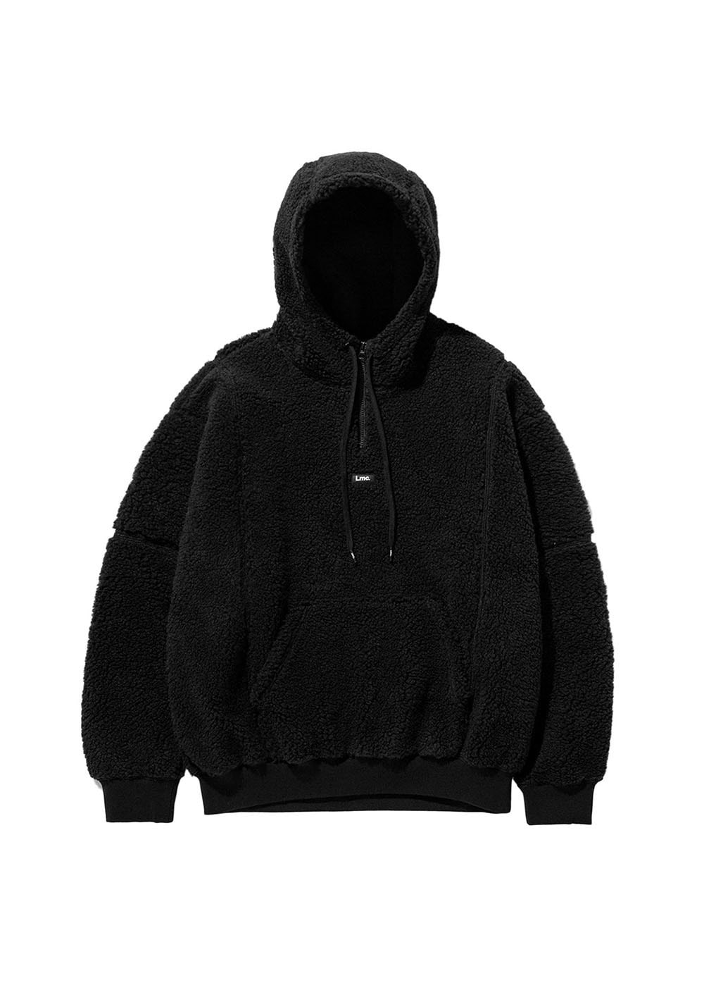 LMC BOA FLEECE QUARTER ZIP HOODIE black